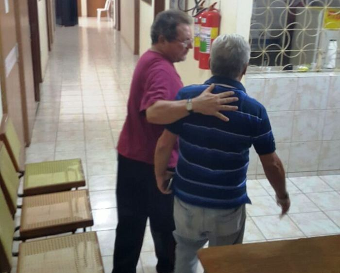 Vereador Nilson Lopes ao lado do deputado José Aldemir (Foto: enviada por internauta)