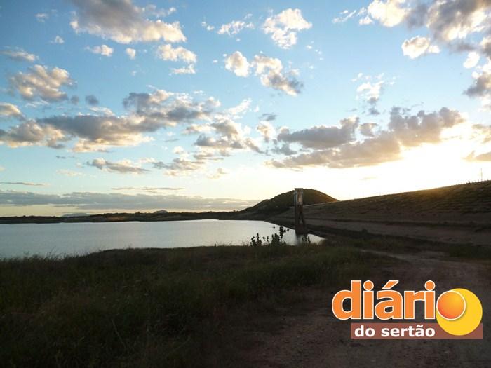 Açude Estevam Marinho em Coremas (Foto: Diário do Sertão / Zildo Vicente)