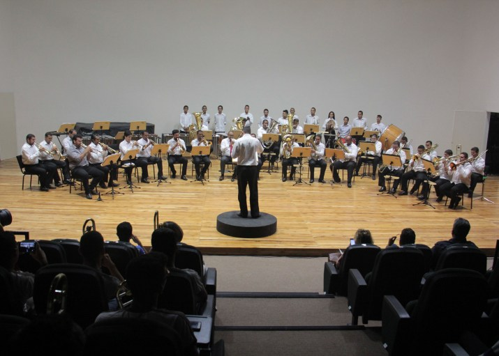Concerto dos alunos da rede pública do estado (Foto: Secom)