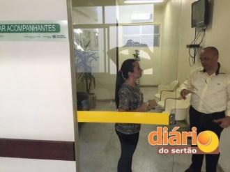 Hospital Regional de Pombal ganhará selo de responsabilidade social do Coren-PB (Foto: DS)