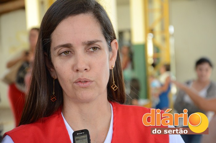 Secretária de Saúde da Paraíba, Roberta Abath (foto: Charley Garrido)