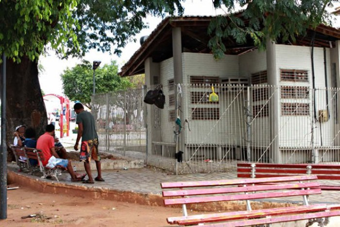 CE JuazeiroDoNorte estupro animais2A Ilha Digital na Praça do Mateu está abandonada (Foto: Cícero Valério/Agência Miséria)