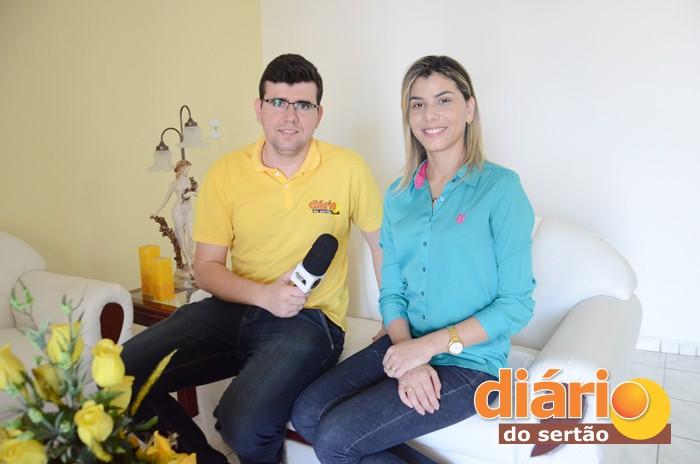 Psicóloga Kamilla Píres prestou entrevista sobre o Pokemon Go (foto: Diário do Sertão)