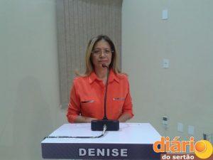 candidata Denise Albuquerque