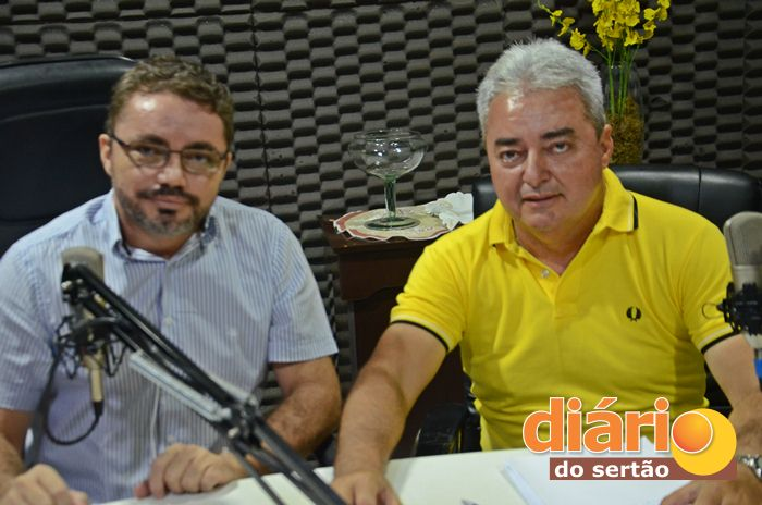 Candidato a prefeito de Nazarezinho, Salvan Mendes (foto: Charley Garrido)