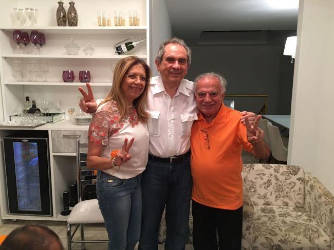 Denise Oliveira, Raimundo Lira e José Antônio