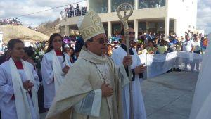 Bispo de Cajazeiras celebrou missa no Cristo