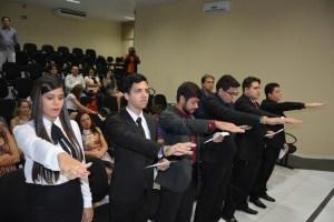 Novos advogados fazem juramento