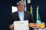 Candidatos foram diplomados pela justiça eleitoral (foto: Charley Garrido)