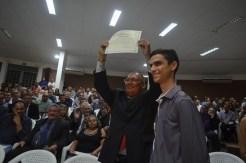 O vereador foi diplomado em Cajazeiras nessa sexta-feira (16)