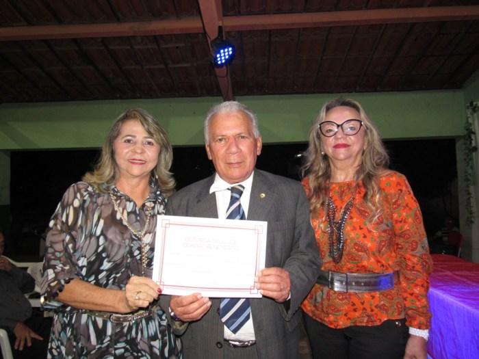 Prefeito eleito de Cajazeiras, José Aldemir, foi um dos homenageados