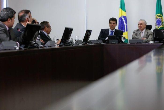 Bancada da Paraíba se reúne com Temer (Foto: Presidência da República)