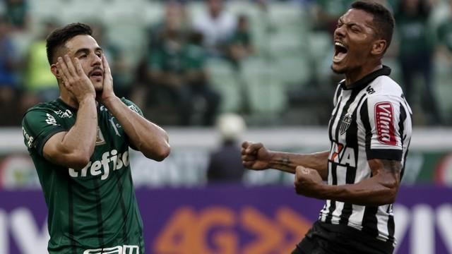 Sem Felipe Melo, Palmeiras empata com o Atlético-MG