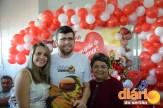 Hemonúcleo realizou festa para os doadores de sangue (foto: Charley G.)