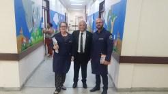 Ronaldo em visita ao Hospital Geral de Mamanguape