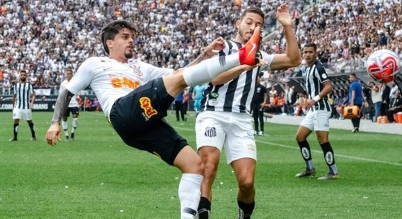 Corinthians e Santos fazem clássico movimentado em Itaquera, mas empatam sem gols