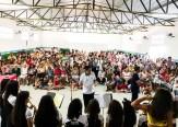 O prefeito de Monte Horebe Marcos Eron, ficou bastante satisfeito com a participação popular na festa das mães