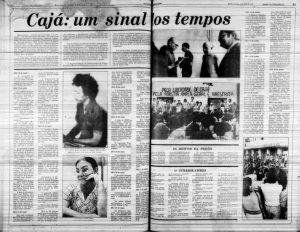 a priso de caj desencadeou manifestaes e greves em todo o pas 300x232 - Conheça a história do sertanejo torturado pela ditadura, que teve ajuda do Papa e de Elis Regina - VEJA VÍDEO