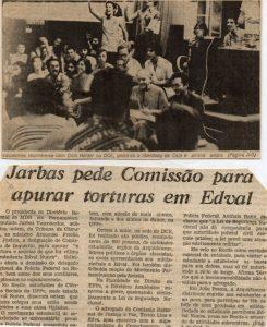 caj foi torturado brutalmente durante o perodo em que esteve preso 245x300 - Conheça a história do sertanejo torturado pela ditadura, que teve ajuda do Papa e de Elis Regina - VEJA VÍDEO