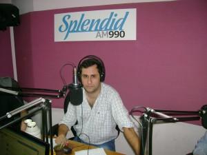 Claudio en Splendid AM 990