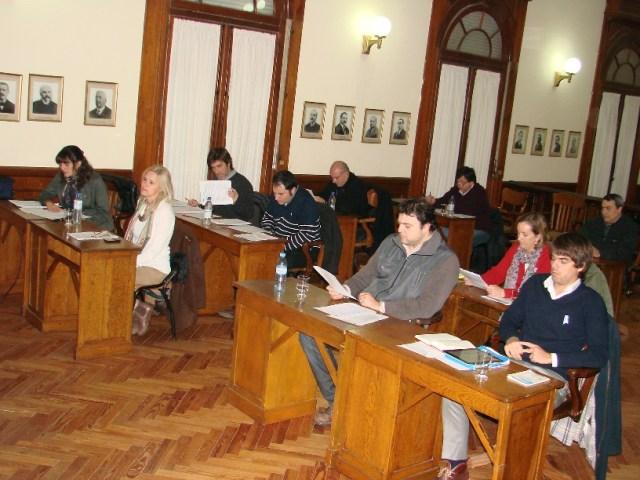 Sesión en Concejo