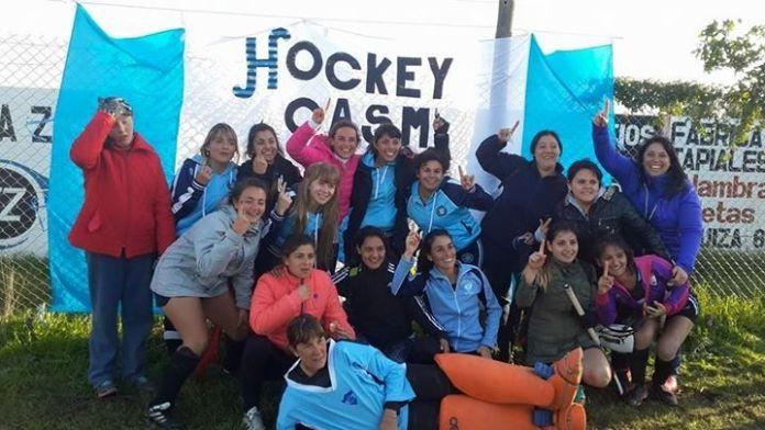 Jugadoras de Mamis Hockey de San Martin