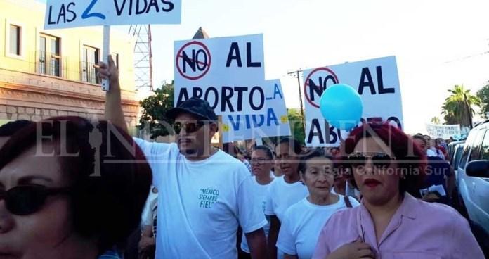 BCS citizens march against the decriminalization of abortion