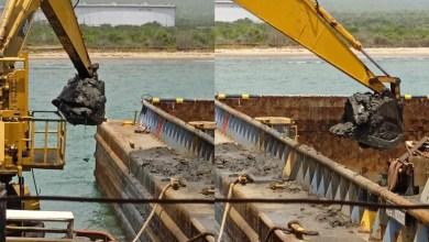 Photo of 6 mil metros cúbicos de coque han extraído en muelles del Complejo Petroquímico Jose