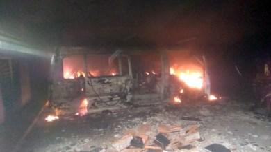 Photo of Incendio de vehículo deja lesionado en Lechería