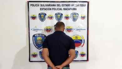 Photo of Capturan a solicitado en Macapaima