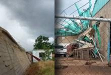 Photo of Reportan afectaciones en 23 viviendas por tornado en Margarita
