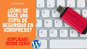 ¿Cómo se hace una copia de seguridad en WordPress? ¡Explicado desde cero!