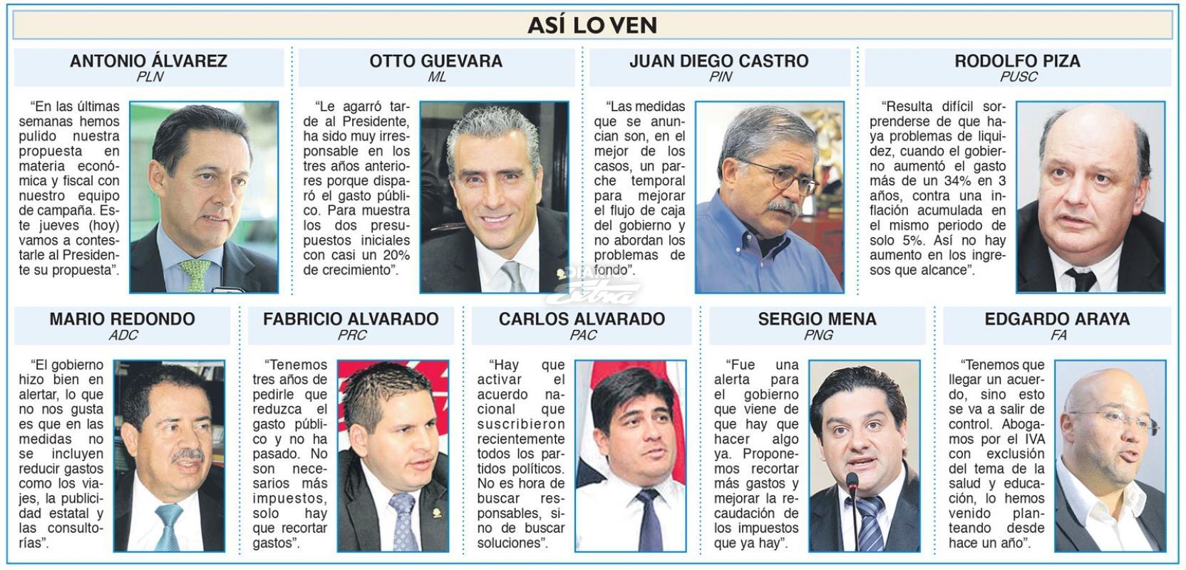 Resultado de imagen para candidatos presidente costa rica 2018