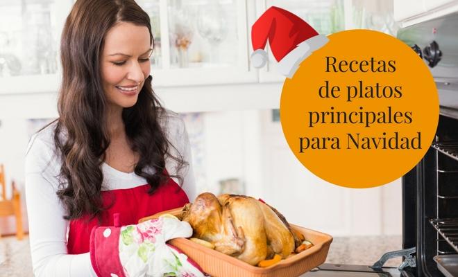 Recetas de platos principales para Navidad