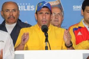 Capriles - CNE