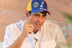 Capriles descartó que el Gobierno tenga la decisión de combatir la corrupción