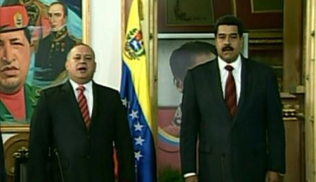 """El presidente del Parlamento, Diosdado Cabello aseguró que, es necesaria la """"colaboración entre los distintos poderes"""