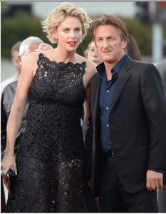 Charlize Theron y Sean Penn continúa viento en popa y podría consolidarse próximamente FOTO AFP