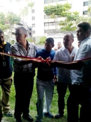 Autoridades locales, deportistas y comunidad participaron en la inauguración del gimnasio