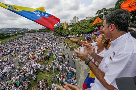 Miles de mirandinos se movilizaron hasta Caracas para participar