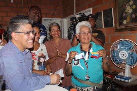 Vicepresidente Jaua: Gobierno Bolivariano está abocado en sanar heridas de la guerra económica