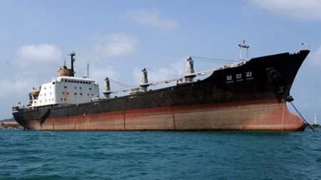 La embarcación Stella Daisy, que inició su travesía el 26 de marzo desde un puerto brasileño, contaba con una tripulación formada por ocho surcoreanos y 16 filipinos
