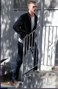 En las últimas fotografías que se dieron a conocer del actor durante una salida por Los Ángeles, Brad Pitt luce casi irreconocible por su pérdida de peso
