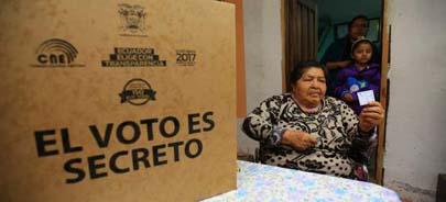 Los ecuatorianos eligieron a su nuevo presidente este domingo
