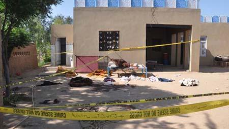 Otras cuatro personas, entre ellas tres mujeres, resultaron heridas y están en estado crítico tras el ataque violento