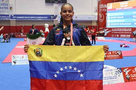 Ortega cerró la participación criolla con medalla de bronce