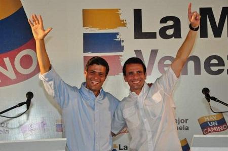 Ambos líderes de la Unidad piden a los venezolanos mantenerse firmes en lucha por conquista de la libertad y la democracia