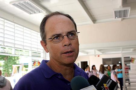 Juan Maragall, secretario de Educación Miranda. Foto: Cortesía.