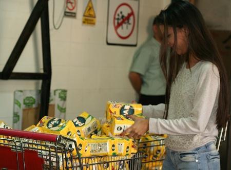 Harina de maíz pre cocida llegó a 2.130 Bs. Foto. Deysi Peña