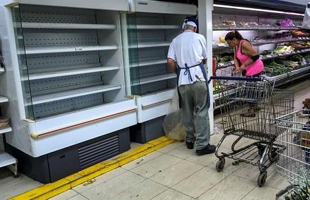 """Compradores alertan sobre """"desaparición"""" de hortalizas en neveras."""